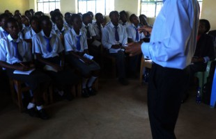 MC Kogi at Hon.Kiragu Secondary School