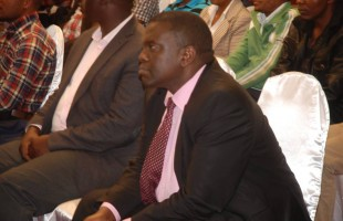 Dr.Kipng'etich enjoys the show
