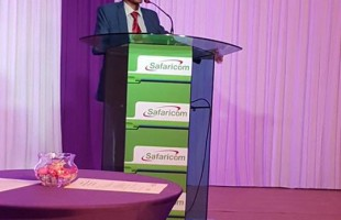 Keynote address with Safaricom